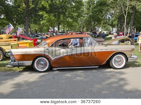 1957 Buick Century Side View