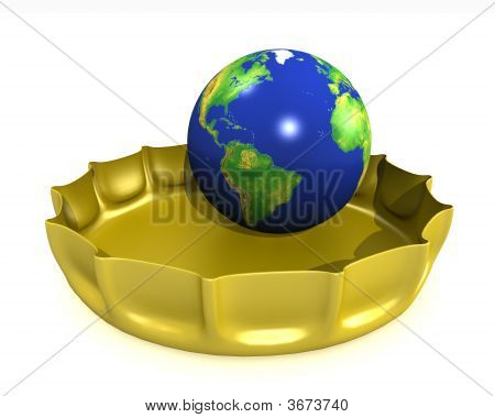 Globe In A Bottlecap