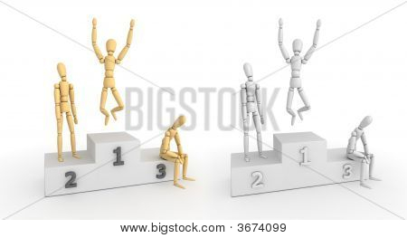 Victory Podium - The Winner Takes It All