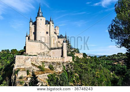 Alcazar of Segovia, Spain