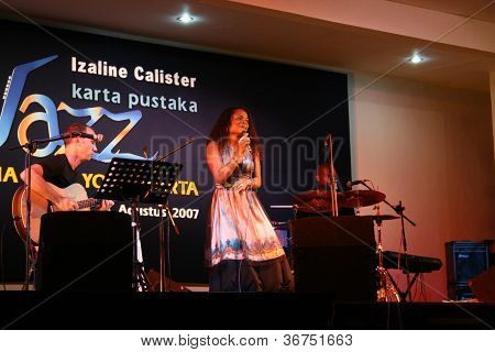 jazz music performances by izaline calister