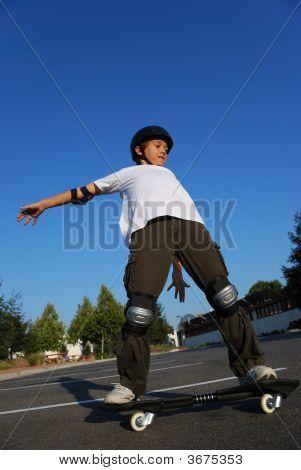 Balancing The Skateboard