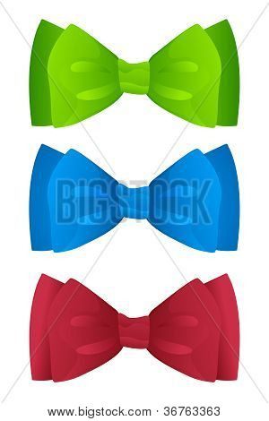 Color Bow Ties