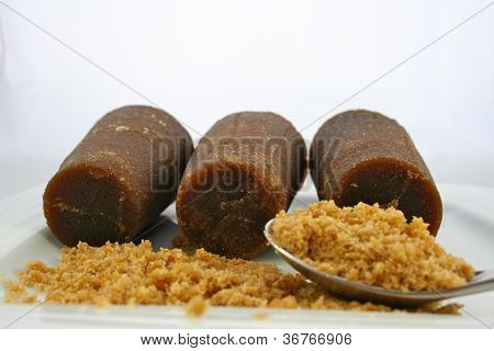 Piloncillo Mexican Brown Sugar with Spoon