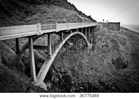 Cook's Chasm Bridge, Oregon Coast