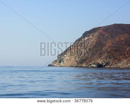 Scenic Landscape Catalina Harbor