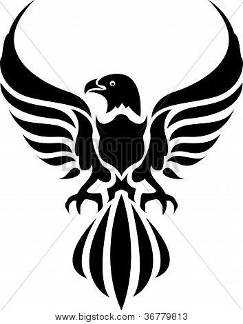 eagle tattoo tribal