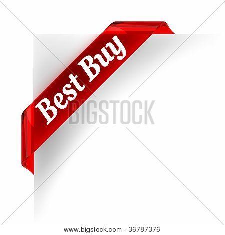 Best Buy Red Banner