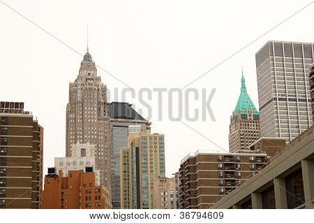 Wall Street Buildings, New York