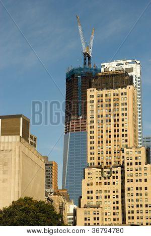 Buildings On Rector Street, New York
