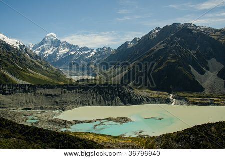 Mount Cook And Hooker Valley, New Zealand