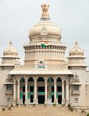 picture of vidhana soudha  - The Karnataka state legislature building  - JPG