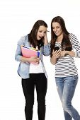 teenager are excited about their smartphone content