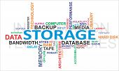 pic of latency  - A word cloud of storage related items - JPG