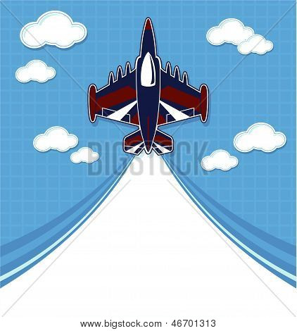 funny aircraft background