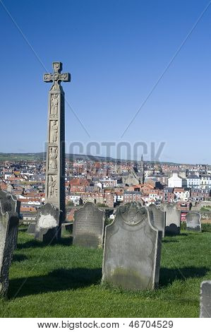 Caedmons Cross, Whitby