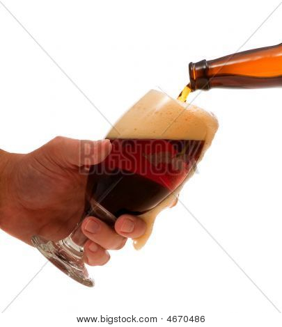 Pouring A Cold One