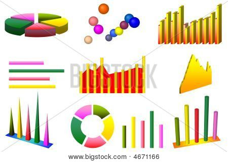 Ten High Quality Graph Charts