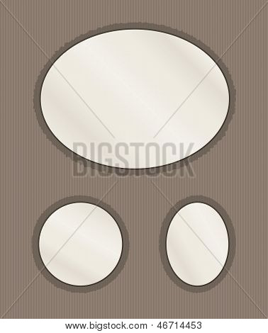 Oval Photo Page