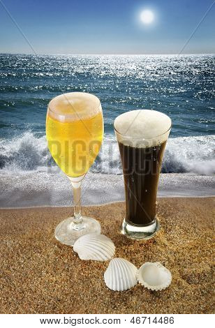 Beer And Beach