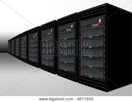 Black Computer Servers