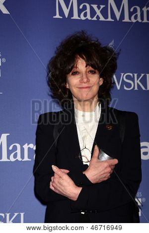 LOS ANGELES - JUN 12:  Amy Heckerling arrives at the Crystal and Lucy Awards 2013 at the Beverly Hilton Hotel on June 12, 2013 in Beverly Hills, CA