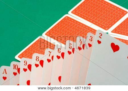 Playing Cards Abstract