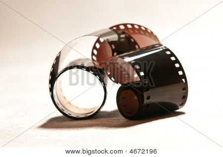 Abstract Exsposured Photo Film 2