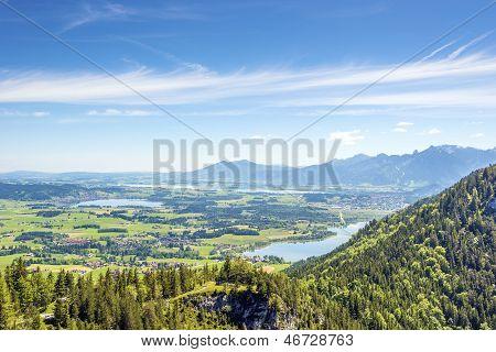 Views Of The Allg�u Region Of Bavaria