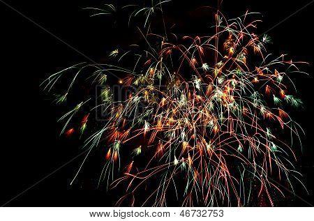 Shower Of Sparks, Fireworks