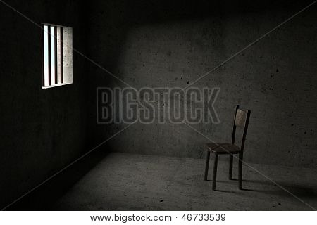 Detidos - prisão 3D