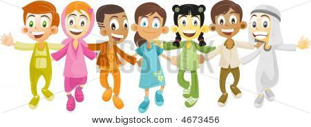 Multi Ethnic Kids