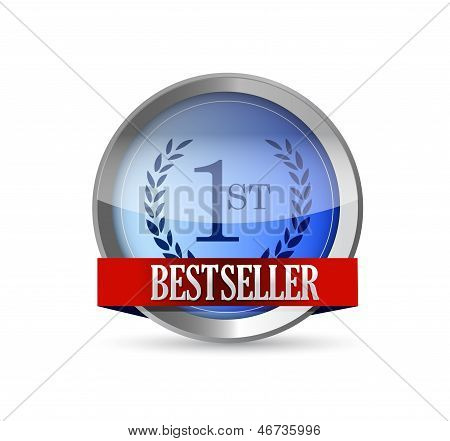 Bestseller Button Shield Illustration Design
