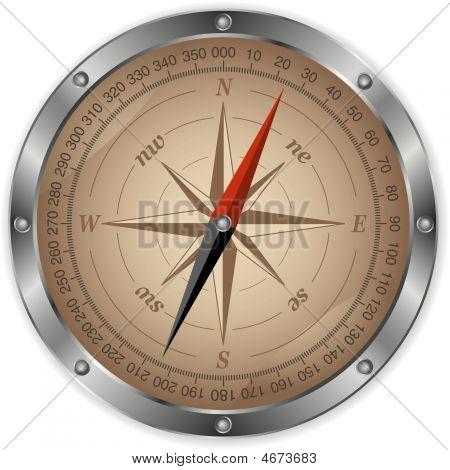 Metal Compass