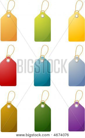 Blank Price Tags