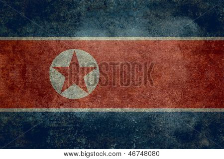 National flag of North Korea Horzontal format