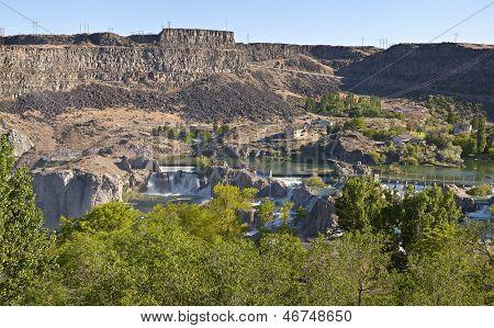 Shoshone Falls State Park Twin Falls Idaho.
