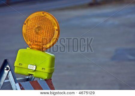 Construction Barricade Light