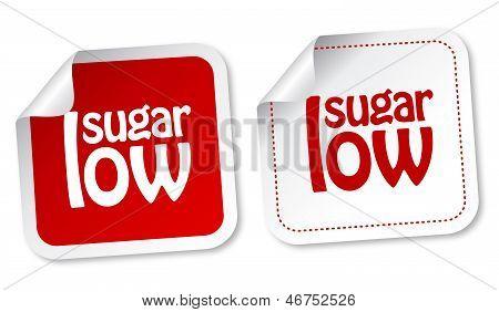 Low sugar stickers