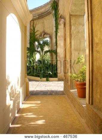 Walkway In Mazatlan, Mexico