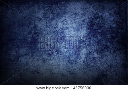Blaue Grunge strukturierte Wand. Textfreiraum