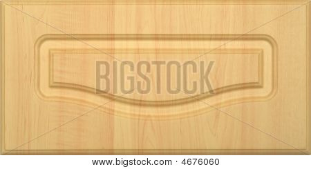 Wide Wooden Frame