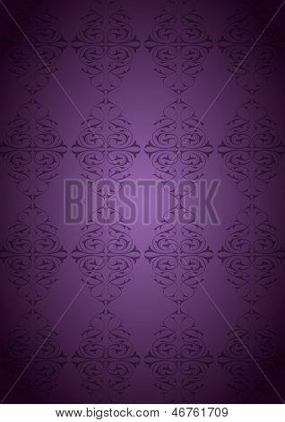 Ottoman Pattern and purple background