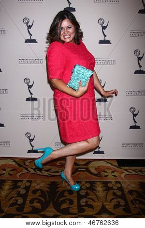 LOS ANGELES - JUN 13:  Angelica McDaniel arrives at the Daytime Emmy Nominees Reception presented by ATAS at the Montage Beverly Hills on June 13, 2013 in Beverly Hills, CA