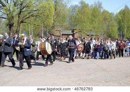 Festive procession