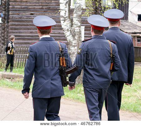 A police patrol