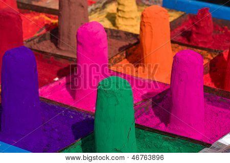 Colored Colorful Powder Kumkum