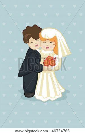 Cake Newlyweds