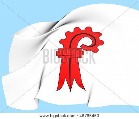 Flag of Basel-Landschaft
