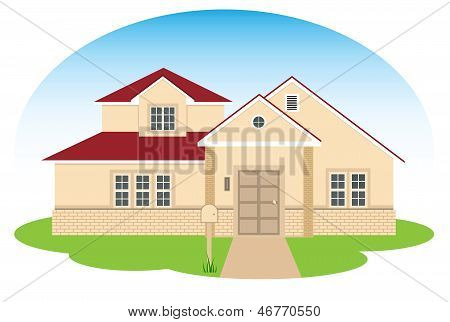 fine family house